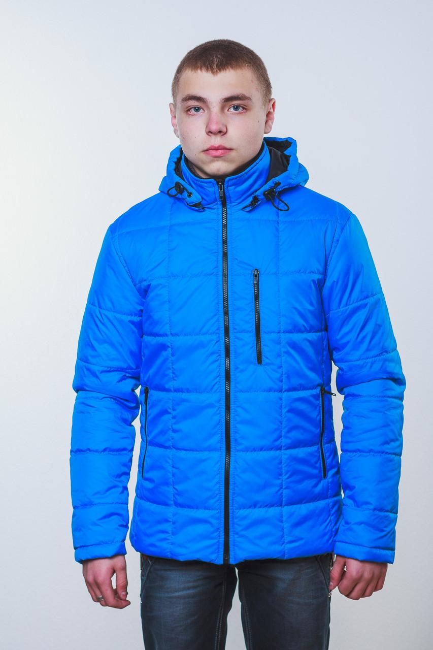 Куртка мужская на синтепоне синяя
